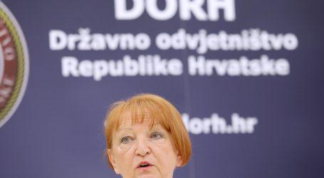 DORH: Na zidovima tužiteljstva ne vise slike supruga glavne državne odvjetnice