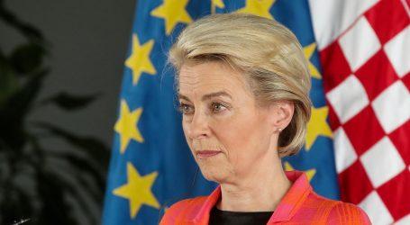 """Ursula von der Leyen: """"Europska unija postigla cilj. U potpunosti je cijepljeno 70 posto odraslih"""""""