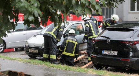 U Slavoniji zbog nevremena više od 70 vatrogasnih intervencija