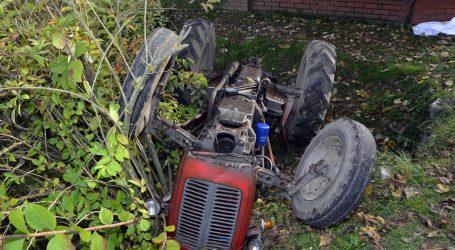 U prevrtanju traktora poginuo muškarac kod Popovače