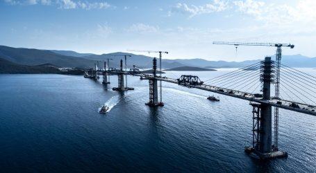 Cijena izgradnje Pelješkog mosta još nije konačna jer će ugovore s Hrvatskim cestama korigirati Strabag i CRBC