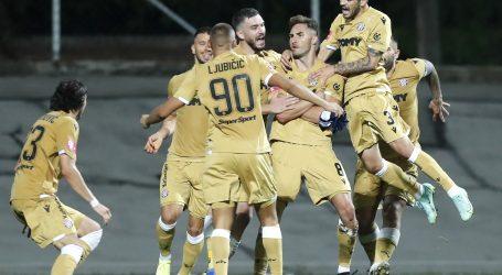 Simić u 95. minuti zabio za pobjedu Hajduka protiv Hrvatskog dragovoljca