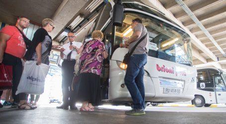 DZS: Prijevoz putnika u drugom kvartalu 124 posto veći na godišnjoj razini