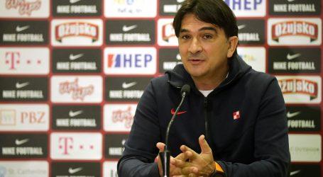 """Dalić: """"Vjerujem u igrače jer svi igraju u svojim klubovima i u formi su"""""""
