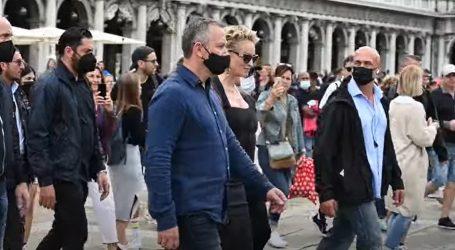 Sharon Stone snimala kampanju za Dolce & Gabbanu u Veneciji