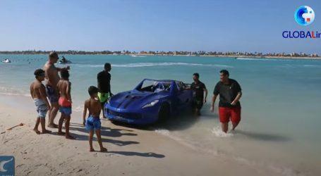 Pogledajte atraktivnu vožnju vodenim skuterom koji izgleda kao sportski automobil