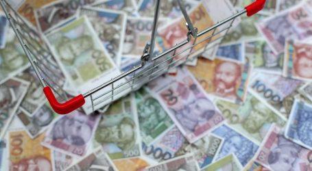 Blagi porast prosječne isplaćene neto plaće, u lipnju iznosila 7.175 kuna