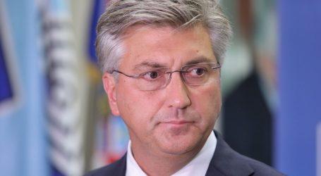 """Plenković na Vladi: """"Kad prestanu restriktivne mjere, prestat će i potpore"""""""