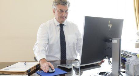 Plenković se samopopisao i pozvao građane da učine isto, do sada to učinilo 177 tisuća građana