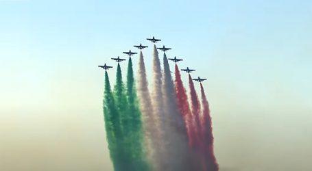 Talijanska akrobatska letačka skupina proslavila 60. godišnjicu postojanja