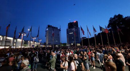 U Ljubljani novi prosvjed protiv cijepljenja i covid potvrda