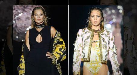 Tjedan mode u Milanu: Kate i kći Lila Moss nosile upečatljive kreacije na reviji Fendi x Versace