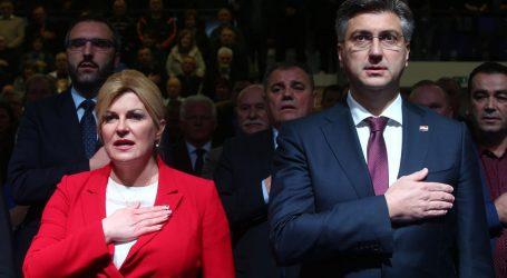 PROVOKACIJA S DESNICE: 'Kolinda Grabar-Kitarović politički će se aktivirati i preuzeti HDZ'