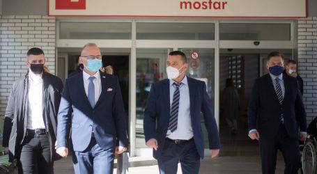 Dio zgrade SKB Mostar ponovno pretvoren u covid bolnicu