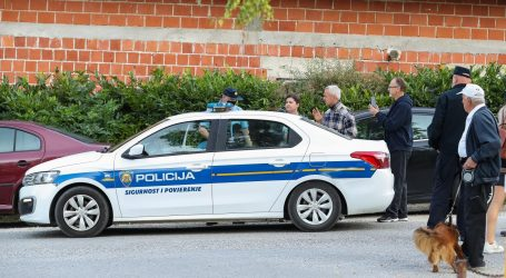 Antimasker priveden pred školom u Krapinskim Toplicama