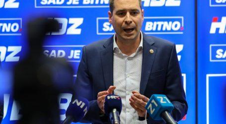 Mislav Herman objavio kandidaturu za šefa zagrebačkog HDZ-a, u timu su mu Nikolina Brnjac i Josip Aladrović