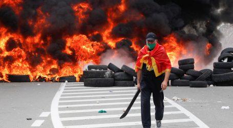 Nakon nasilnih prosvjeda, noć u Cetinju protekla mirno