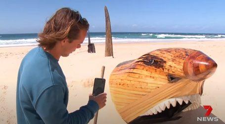 Pogledajte umjetničke instalacije na pješčanoj plaži australskog grada Gold Coast
