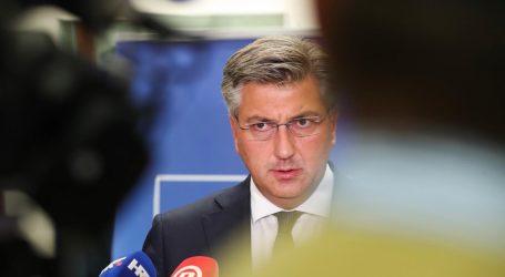 """Plenković sa sjednice Vlade o novoj koronakarti ECDC-a: """"Očekivano je da je Hrvatska u crvenom"""""""