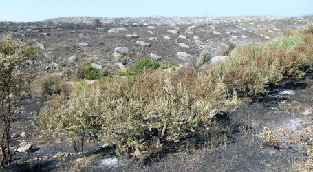 Kod Prgometa izgorjelo 20 hektara trave i niskog raslinja