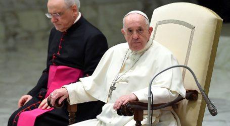 """Papa Franjo o pedofiliji u Francuskoj: """"Izražavam sram zbog preduge nesposobnosti Crkve da to stavi u središte svog djelovanja"""""""