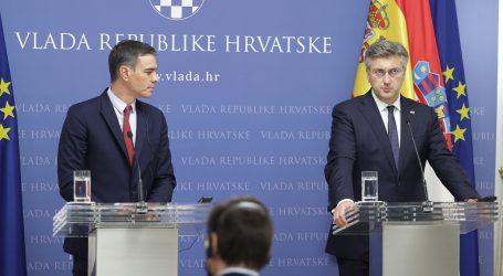 "Sanchez i Plenković: ""Hrvatska i Španjolska surađivat će na projektu nuklearne fuzije"""