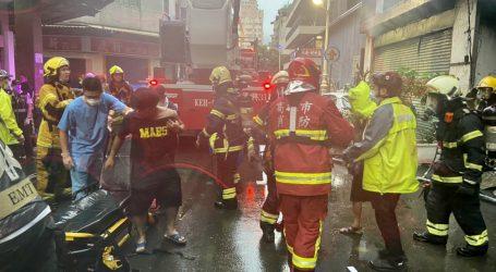 Požar na jugu Tajvana: Vatra progutala stambenu zgradu, više od 40 poginulih