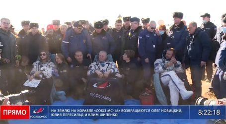 Rusi snimaju film u svemiru: Glumica i redatelj 12 dana proveli na Međunarodnoj svemirskoj postaji