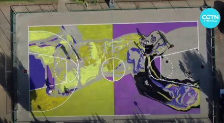 U španjolskom Balagueru umjetnici i košarkašice muralom odali počast Kobeu Bryantu