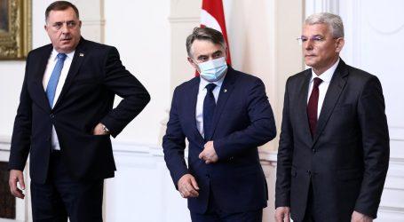"""Kao da nisu bili na istom samitu, Komšić: """"EU je prioritet""""; Dodik: """"Ovo je doprinos ka raspadu BiH"""""""