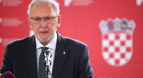 """Božinović: """"Nema bolje prevencije covida-19 od cijepljenja"""""""
