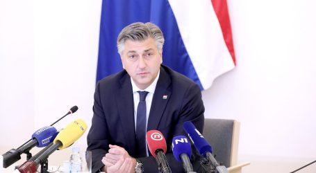"""Plenković: """"Dobronić je čovjek integriteta, parlamentarna većina će ga podržati"""""""