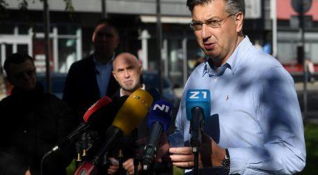 """Plenković: """"Neka guverner HNB-a objasni izjavu o rastu rata kredita. Ako nešto misli o tome neka nam priopći"""""""