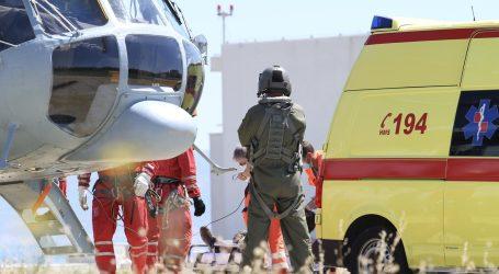 HGSS spasio dvoje ozlijeđenih planinara na Mosoru, helikopterom prebačeni u bolnicu