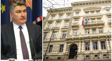 """VSRH odgovorio Milanoviću: """"Predsjedniče, u krivu ste. Odluke objavljujemo tek kada su za to ispunjeni uvjeti"""""""