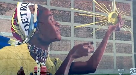 Waleed Johnson u rodnom Detroitu oslikao svoj stoti mural, pogledajte video