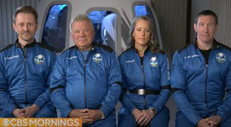 Ne bude li ponovne odgode, William Shatner putuje u svemir u srijedu