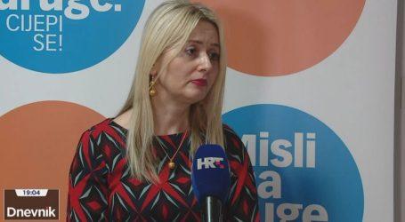 """Ivana Pavić Šimetin: """"Broj cijepljenih trećom dozom prešao je tisuću"""""""