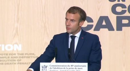 """Francuski predsjednik Macron najavio svjetski skup protiv smrtne kazne. """"Ona ne štiti društvo, ona ga sramoti"""""""